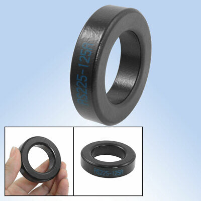 AS225-125A Ferrite Rings Iron Toroid Cores Black for Power Inductor