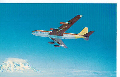 Boeing colours 707 postcard