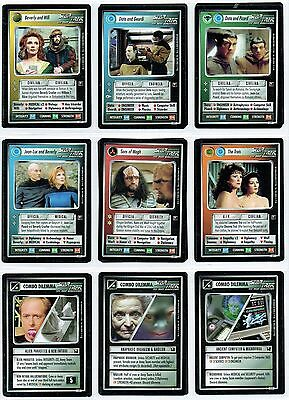 Star Trek Ccg Enhanced Premiere, Complete Set Of 21 Cards