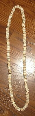Indian Artifacts 240 Indian Made Shell Disc Beaded Necklace 1700S California