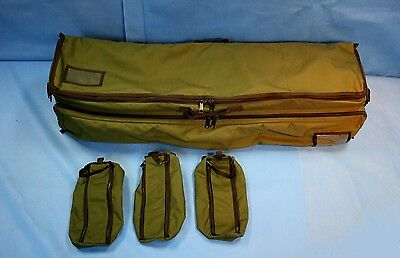 """Iron Duck Medical Supply Case IV Support Pouch 45""""x13""""x11"""" w/ Hard Insert 44150"""