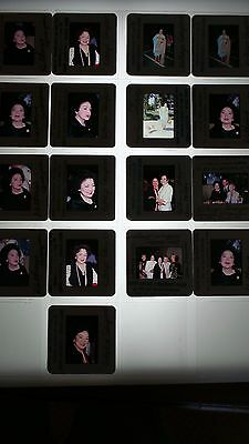 Kathryn Grayson CANDID VINTAGE  LOT OF 35MM SLIDE TRANSPARENCY PHOTO #