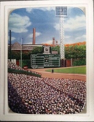 Danbury Mint Forbes Field Panoramic Four-Plate Collection COMPLETE Matching Ser#