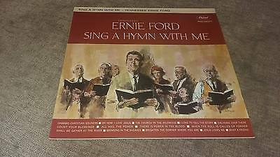 "Tennessee Ernie Ford - Sing A Hymn With Me Capitol "" Ex 33 Rpm"