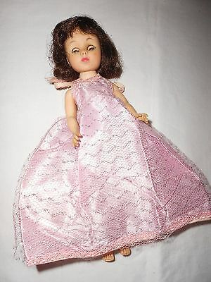 "Vintage American Character Toni Doll 10"" Pretty Brunette Fashion Doll"