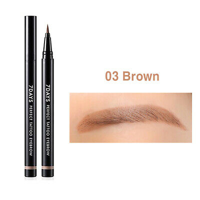 TONYMOLY 7Days Tatoo Eyebrow 0.8ml #02 Dark Brown