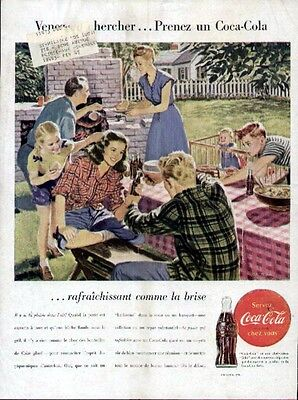 1946 Coca Cola French ad (Come and get it)