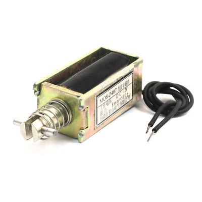 DC12V 8mm 500g Actuator Linear Pull Push Type Solenoid Electromagnet