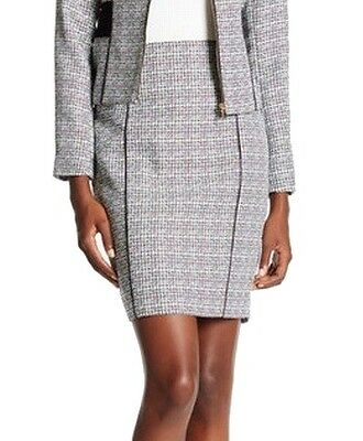 Calvin Klein NEW Gray Women's Size 6P Petite Straight Pencil Skirt $59 #093