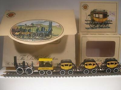 Bachman HO The Dewitt Clinton 1831 Locomotive and Tender with Four Cars in Box