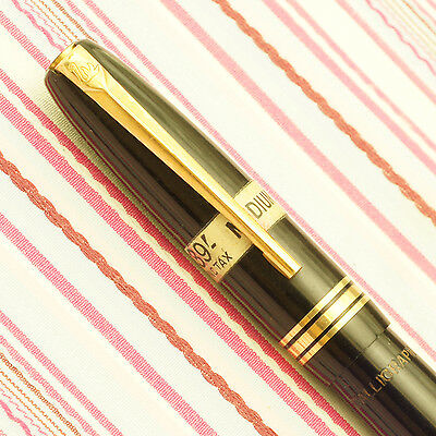 Vintage Mabie Todd Swan Leverless Calligraph Deluxe Fountain Pen New Old Stock