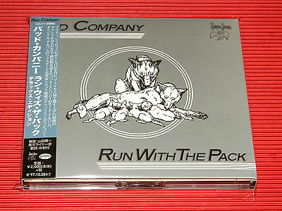 2017 Japan Bad Company Run With The Pack Deluxe 2 Cd Digipak Edition