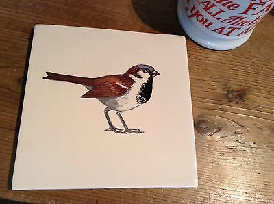 Emma Bridgewater Sparrow Tile New Discont
