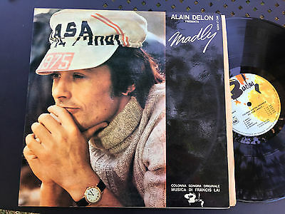 LP  OST ITALY 1970  RARE Francis Lai – Madly Label: Barclay – BRC LP 60019
