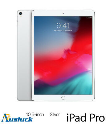 "APPLE iPAD PRO 64GB Wi-Fi 10.5"" SILVER MQDW2X/A 2017 MODEL ""AUSLUCK"""