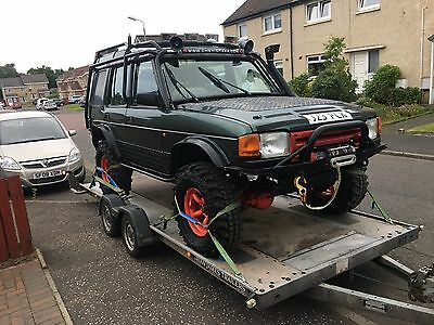 Land Rover Discovery Saftey Device Roll Cage