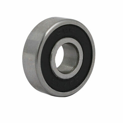19mmx7mmx6mm Metal Double Rubber Sealed Deep Groove Ball Bearing