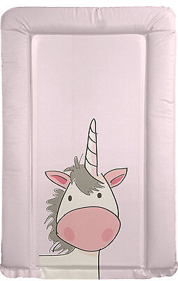 Unicorn - Baby Pink Changing Mat - Nursery - Can be Personalised