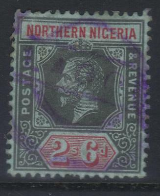 Northern Nigeria 1912 Mcca  Sg49 Used Fiscal Canx Cat £55