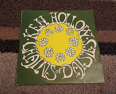 KEN HOLLOW Chains of Daisies LP UK FOLK DTS 1976 PRIVATE PRESSING 13-track