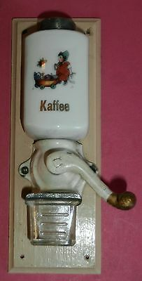 E RARE  miniatures Antique Wall Mount Mill /doll dinette*child w. toys butterfly
