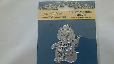 tattered lace christmas cuties penguin die