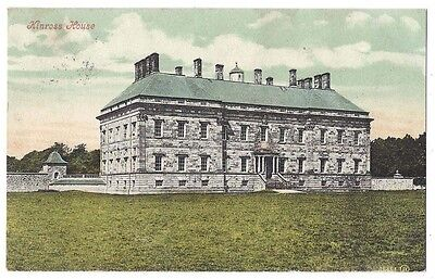 KINROSS HOUSE Perth & Kinross, Old Postcard by Valentine Postally Used 1906