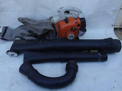 Stihl BG56 Petrol Leaf Blower with Vacuum Kit Out it Goes No Reserve