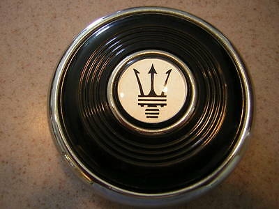 Maserati Horn Button for Nardi 1960's Steering Wheels 2 FUNCTION 70 mm NEW NOS