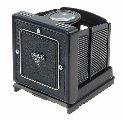 Rolleiflex Waist Level Finder For The Rollei TLR's With Removable Hoods.