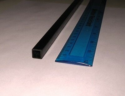 1x Carbon Fibre Square Inside Tube 10mm x 10mm x 800mm (SQ10-1) : £9.75