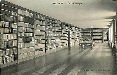27* LOUVIERS  bibliotheque