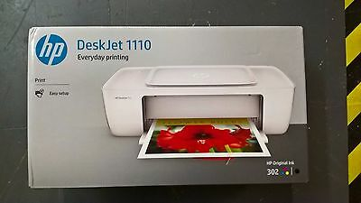 HP DeskJet 1110 (A4) Colour Inkjet Printer 20ppm (Mono) 16ppm (Colour) 1,000