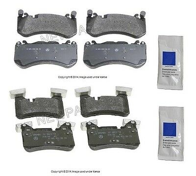 For Mercedes W212 W218 CLS63 AMG E63 AMG S Front Disc Brake Pad Set TRW GDB1734