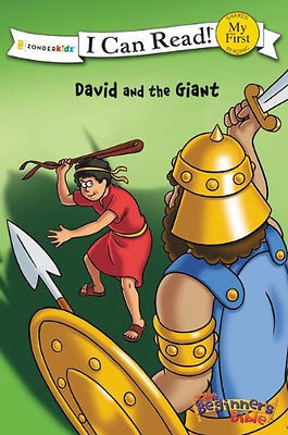 David and the Giant (I Can Read/The Beginner's Bible) - Paperback NEW Pulley, Ke