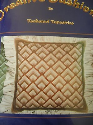 "TApestry Kit Creative Cushion Front ""Browns "" New by Toadstool Tapestries"