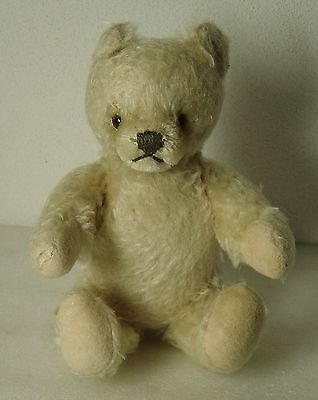 ESTATE/vintage  suuuch  adorable  off  white  teddy  bear  steiff 8 1/2  inches