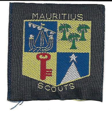 1078 Mauritius Country Scout Badge