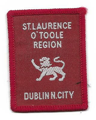 0853 St. Laurence O'toole Region Irish District Scout Badge