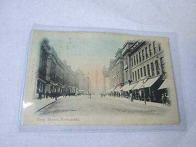 Postcard of Grey Street, Newcastle (Posted 1905)