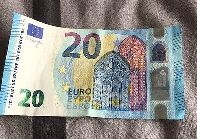 20 Euro Note. - Left Over Holiday Money. - Look!!.