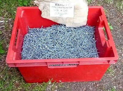 Nails Bright Annular Ring Shank 50mm x 2.65mm About 20 Kgs