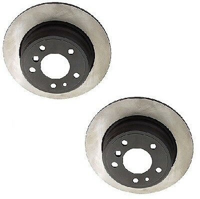 For BMW E46 E39 M3 M5 00-06 Set of 2 Rear Disc Brake Rotor Opparts 40506182