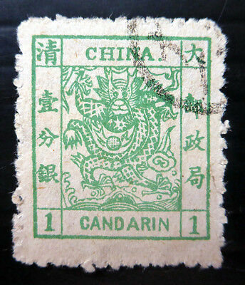 CHINA 1882 - 1c SG4 Very Fine/Used NB1530