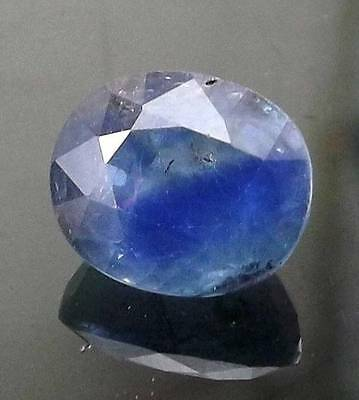 3 cts 100% Natural  Untreated Ceylon Blue Sapphire Gemstone #acs37