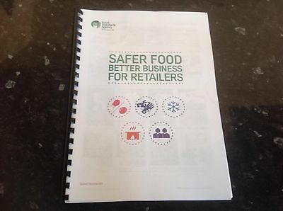Safer Food Better Business For Retailers Pack SFBB food standards agency