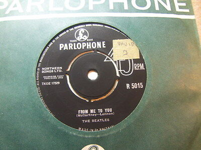"The Beatles – From Me To You 1963 7"" Parlophone R 5015"