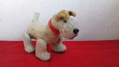 Schuco Trip Trap Scotty 1950s Scottish Terrier Dog Mohair Plush Tripple Trapple