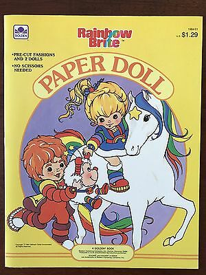 Rainbow Brite Paper Dolls, 1984 Hallmark Cards, Inc.