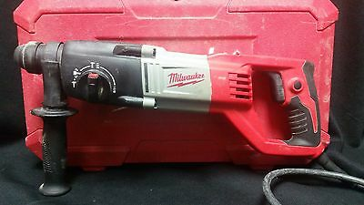 """Milwaukee 5262-20 7/8"""" SDS Plus Corded ROTARY HAMMER DRILL 120V 7 Amp w/ Case"""